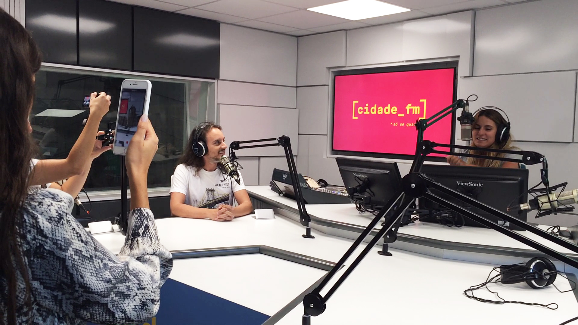 Pedro Silva Santos na CIDADE-FM
