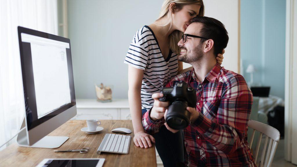 como vender imagens na internet